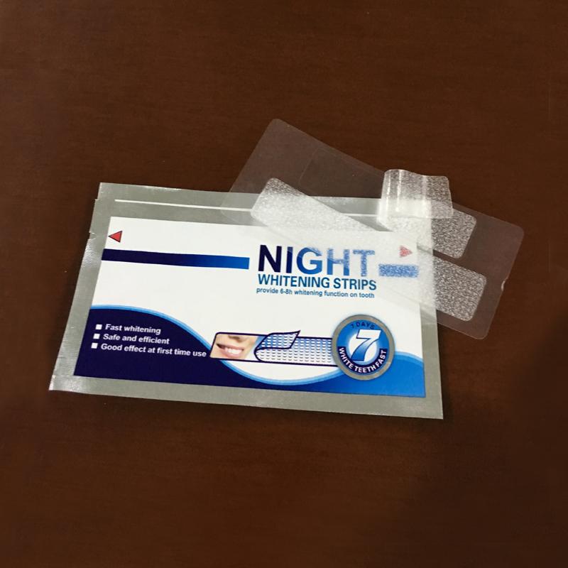 欧诺洁牙齿美白牙贴20对夜间干式美白去黄牙贴
