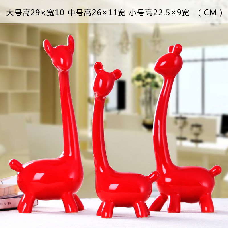 Цвет: Четыре оленя нога красный