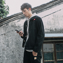 新款韩版夹克 工装 男士牛仔上衣外套