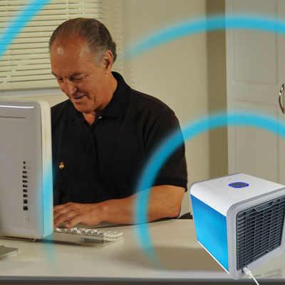 空调制冷arctic air cooler办公室冷风机桌面加湿迷你usb小型风扇
