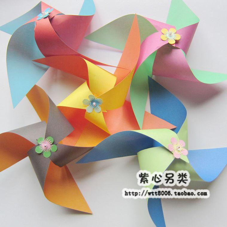 幼儿手工制作手工折纸材料 儿童彩纸手工纸双色双面15