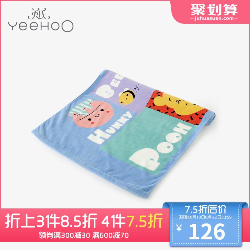 英氏婴儿浴巾 男宝宝纯棉亲肤大浴毛巾 迪士尼系列 184A0328