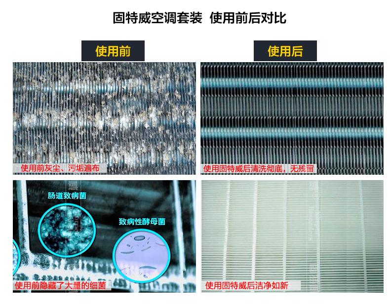 固特威汽车空调清洗剂车空调套装泡沫清洁剂空调免拆杀菌除臭家用