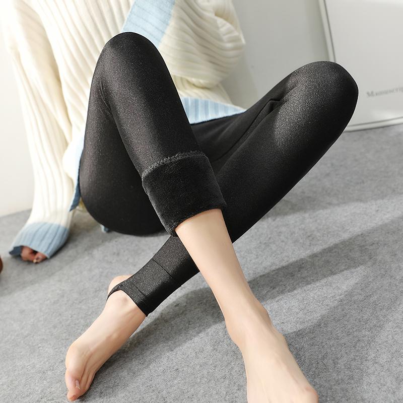 【敏莲】高弹舒适女式光泽打底裤