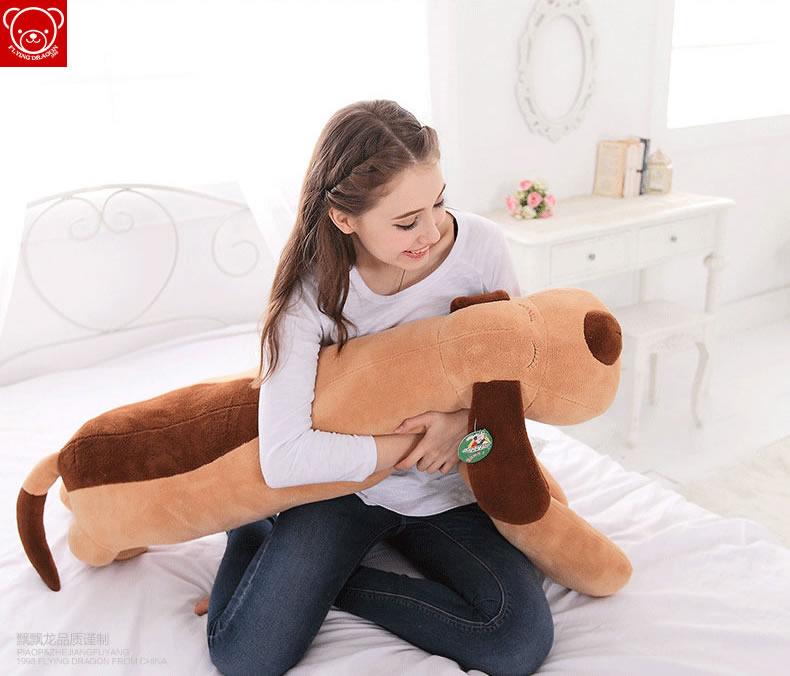 毛绒玩具狗大号玩偶公仔睡觉抱枕靠垫布娃娃可爱女生