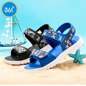 361童鞋男小童2019夏季男童防滑凉鞋沙滩鞋包头儿童凉鞋K71824659