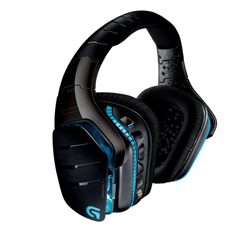 正品国行 罗技G G933 rgb无线游戏耳机有线双模头戴式电竞7.1声道绝地求生吃鸡带麦 支持台式电脑手机苹果ps4
