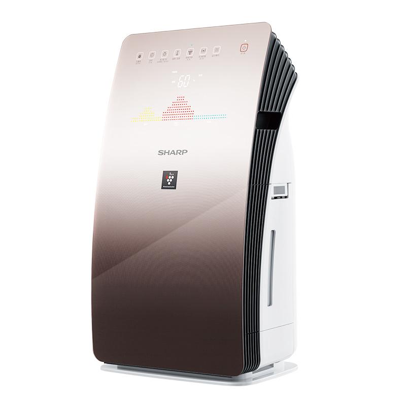 夏普空气净化器ag111.ap|开户KC-CG605-T-60-M除PM2.5二手烟除甲醛加湿智能