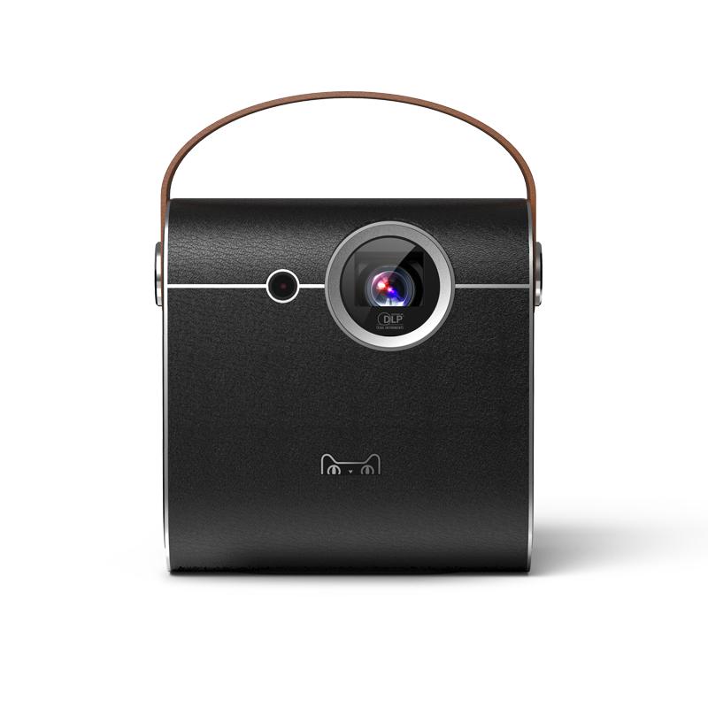 天猫魔屏a1s智能投影仪微型迷你便携式家用商用会议教育培训办公通用高清1080p手机无线同屏投影