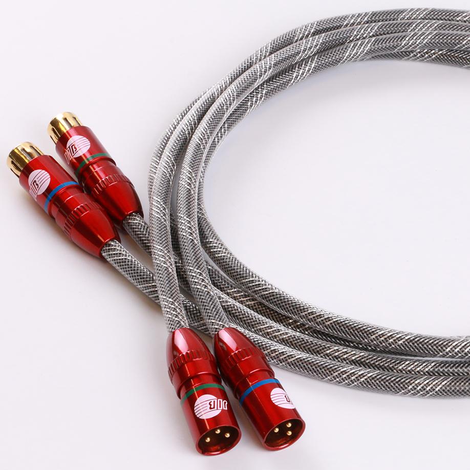 蟒蛇JIB HF-007A xlr平衡线卡侬头公对母音频线号线CD机连接功放