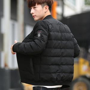 棉衣男韩版潮流立领棉服冬季修身袄子外套青年短款加厚棉袄男衣服