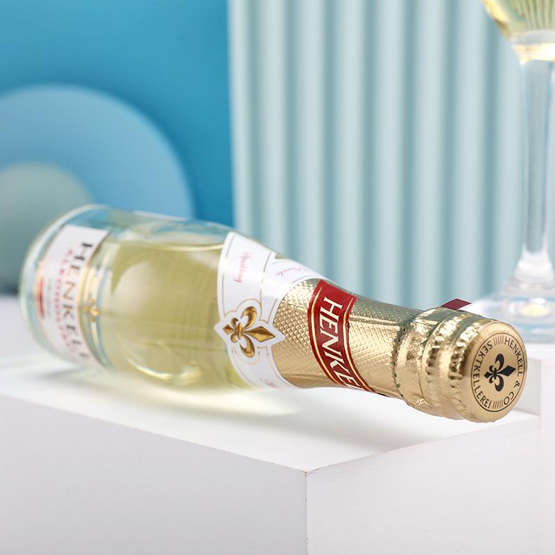 德国进口汉凯脱醇小支起泡酒香槟葡萄酒6支礼盒装