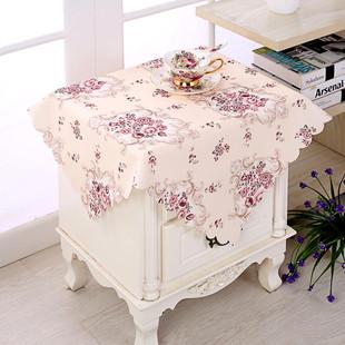 亚麻枫叶餐桌布布艺椅套椅垫套装加厚餐椅套装简约现代椅子套罩