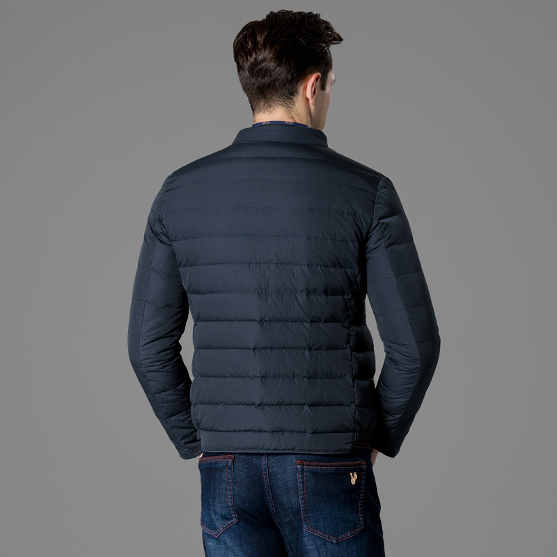 Men's down jacket QZHIHE hmytc3116