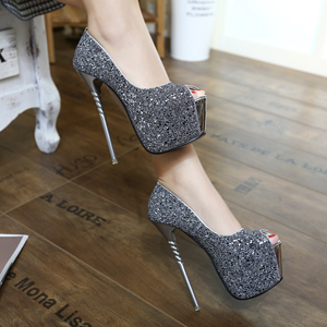 16CM ultra fine with temperament high-heeled shoes size 34-40