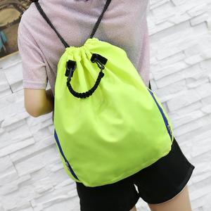 货号1180 定制 抽绳束口包女士双肩包 运动背包 篮球袋