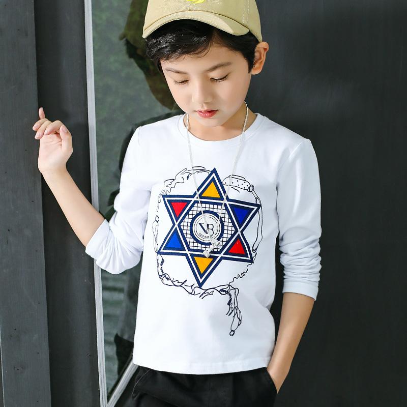 【円潮区】儿童纯棉长袖T恤