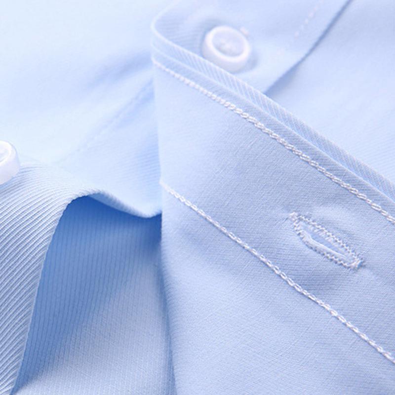 Simtrees定制衬衫绣名字绣logo送男友礼物长袖商务纯棉刺绣白衬衣