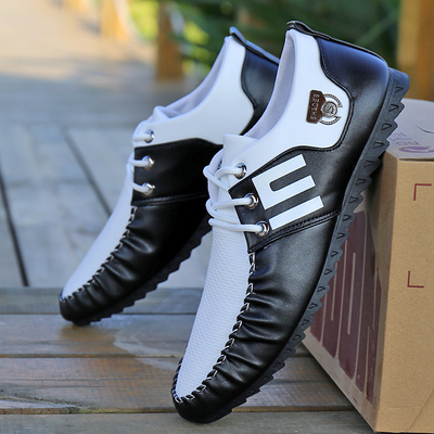 Men Fashion Leather Shoes Man Business Formal Shoes 285506