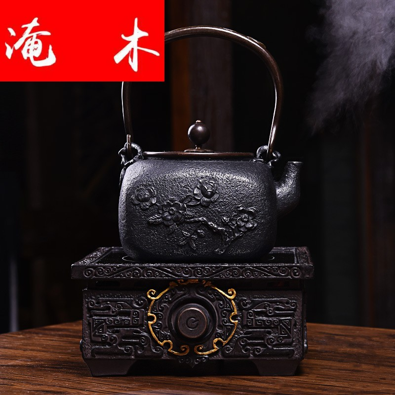 Submerged wood? Iron pot of cast Iron tea kettle electric TaoLu boiled tea, the teapot tea set tea stove tea taking