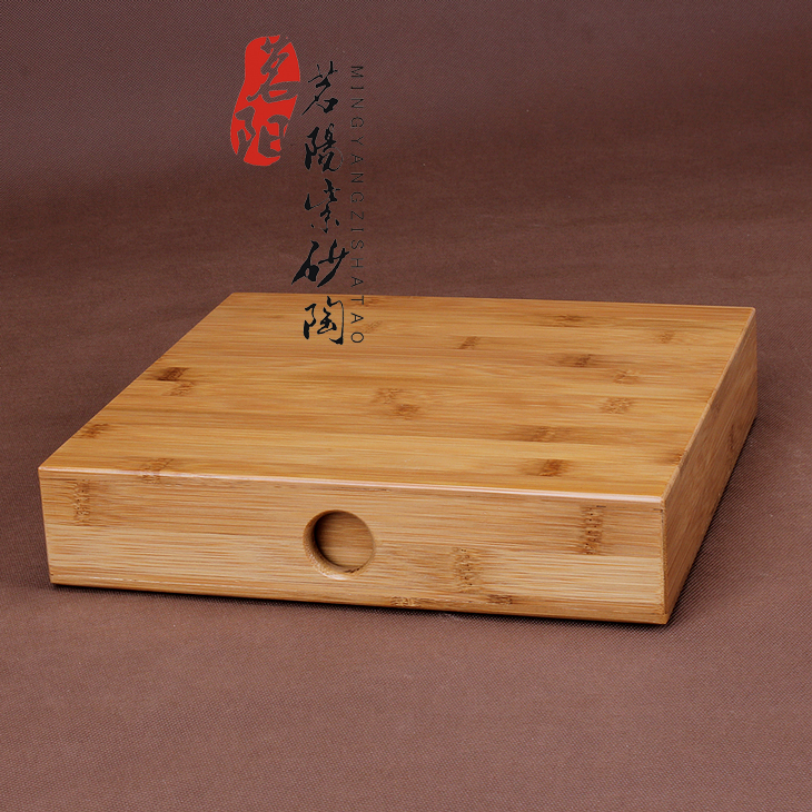 Bamboo and wood boxes of pu - erh tea tea tea tray package mail tea cake store receive points single deposit ark box