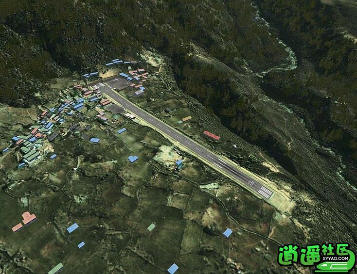 fsx 尼泊尔卢卡拉机场(lukla x)
