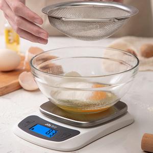 香山电子秤厨房秤克称电子称家用小型称重器烘焙秤食物秤0.1g精准