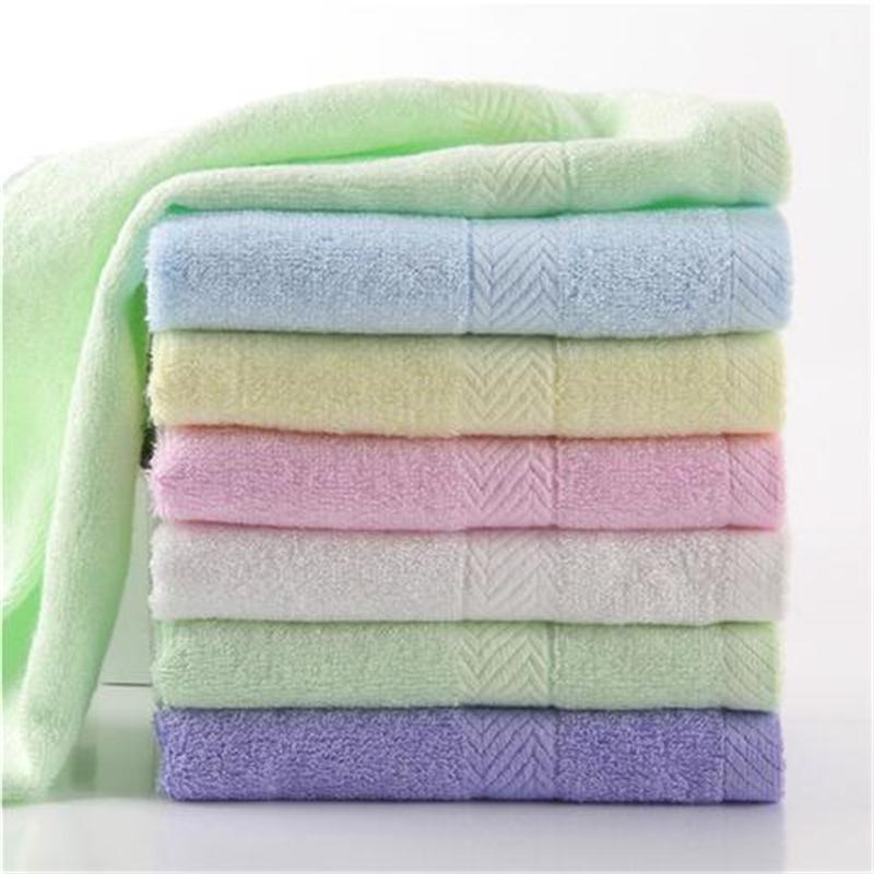 衣纺阁竹纤维软毛巾吸水毛巾五条装成人洗脸毛巾儿童毛巾免费绣字