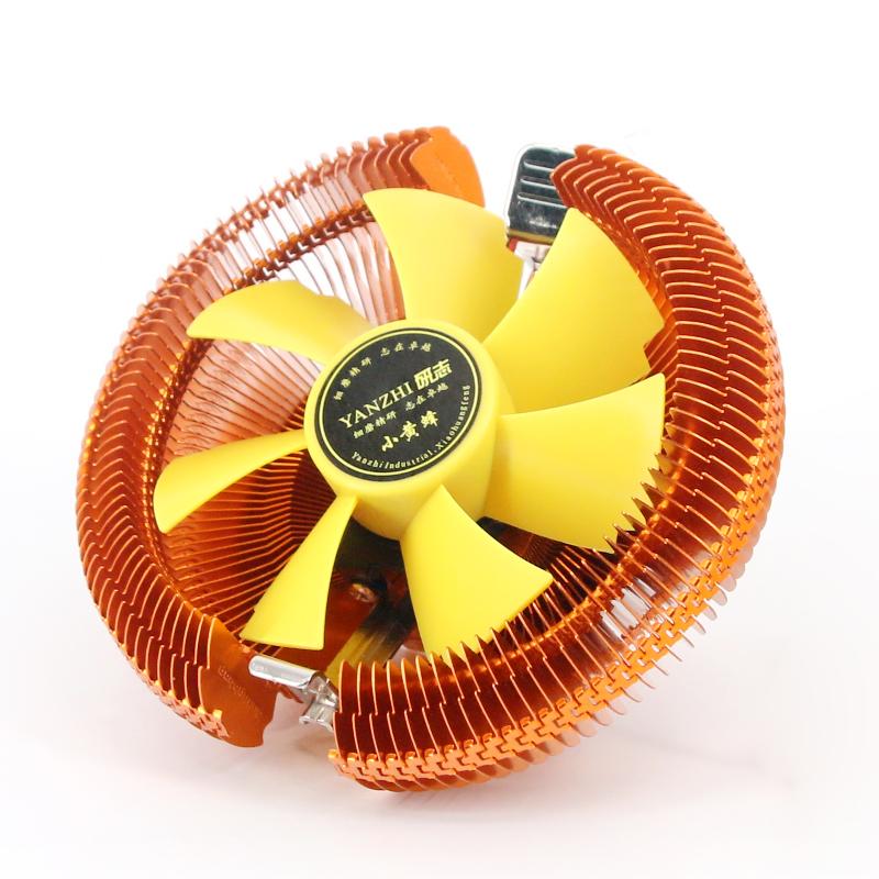 AMD 英特尔CPU风扇台式CPU散热器电脑风扇CPU风扇 静音775-1155