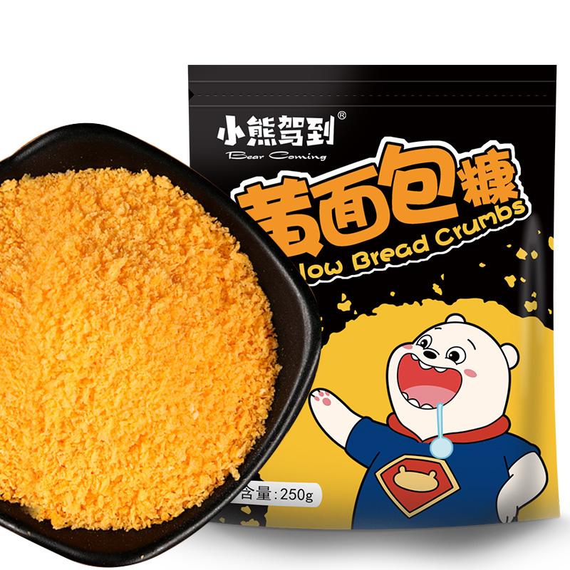 金黄色面包糠家用油炸香酥香蕉脆皮鸡排粉