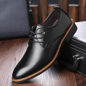 男士英伦休闲皮鞋