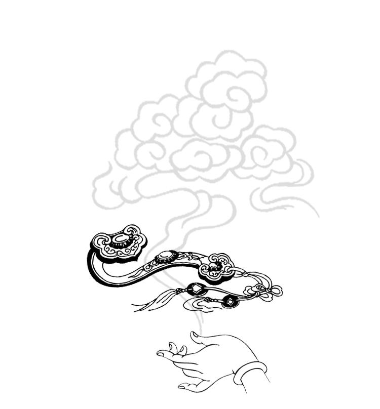 天猫【多款可选】中国风吉祥如意u盘32g图片