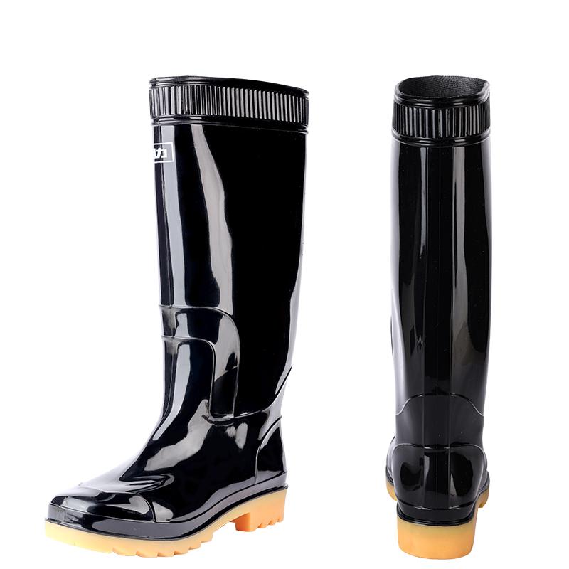 回力雨鞋男士水鞋防滑耐磨防水短筒套鞋高筒中筒胶鞋水靴男式雨靴