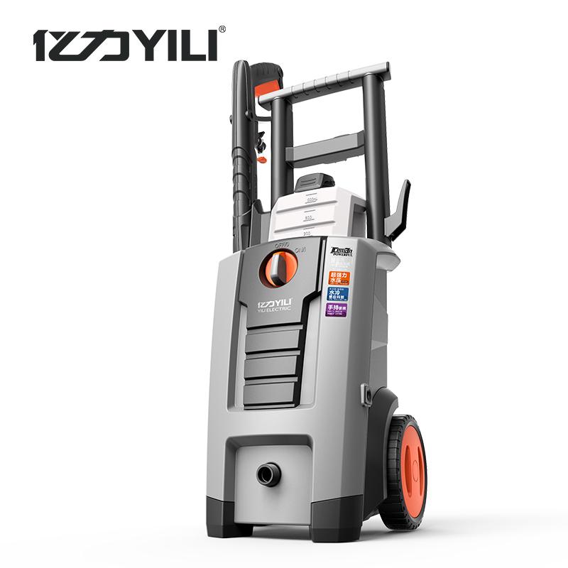 亿力家用水冷电机洗车机高压洗车机家用220v自吸洗车器高压清洗机