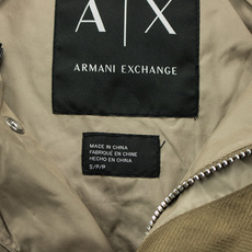 Mens windbreaker Armani p6x1271 Exchange/AX