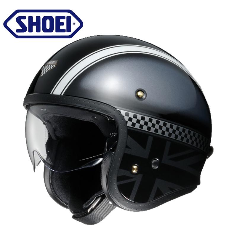 日本SHOEI复古哈雷机车半盔夏季四季摩托车头盔男女个性酷碳纤维