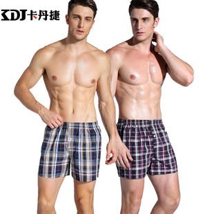 阿罗裤全棉平角裤短裤居家裤内裤