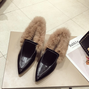 category/Shoes/Winter set foot thick with han edition pointed high-heeled s...