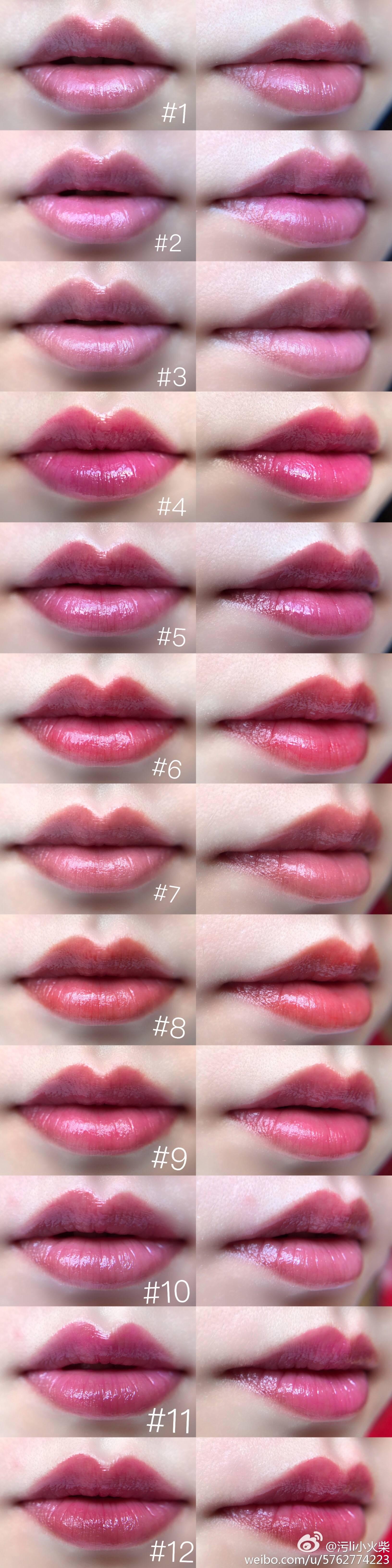 n°4 desire me pink 桃色欲望                      n°5 da