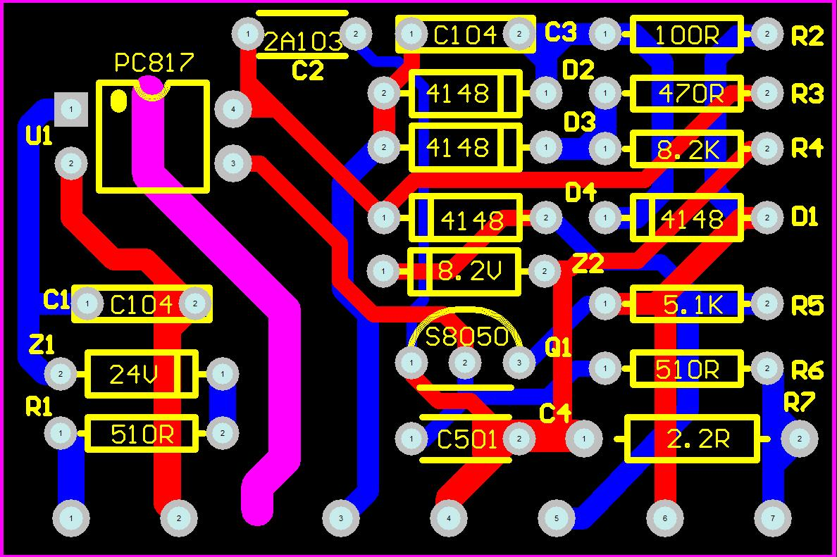 Inverter Welder Repair Parts Mos Machine Auxiliary Power Supply Circuit Board Small Vertical