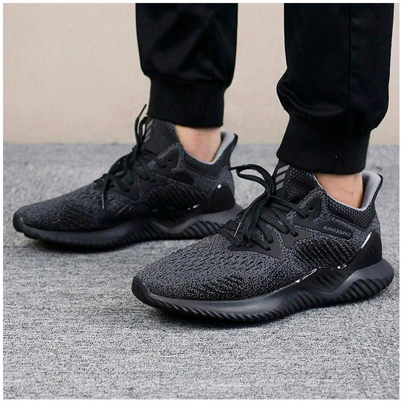 阿迪达斯男鞋2018秋季新款运动鞋休闲小椰子跑步鞋AC8273