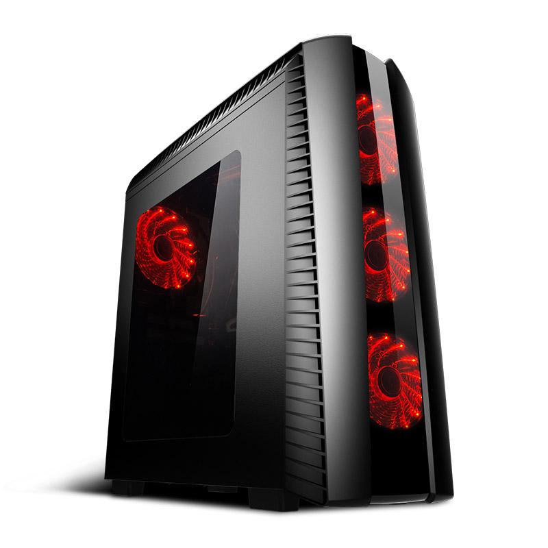 宁美国度i5 8400-RX580 8G高端游戏组装整机吃鸡电脑主机台式全套
