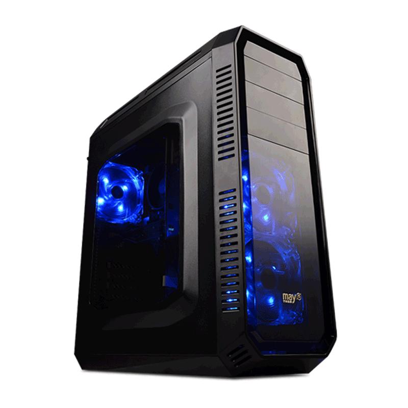 宁美国度AMD锐龙Ryzen5 1600-RX560D游戏台式电脑主机组装机整机