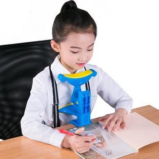 小雨星儿童视力保护器小学生防近视坐姿矫正器纠正写字姿势仪架护眼架矫正小孩低头坐姿提醒器正姿爱眼架幼儿