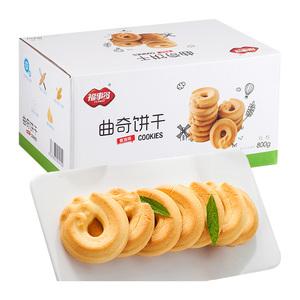 【福事多】曲奇饼干黄油味800g