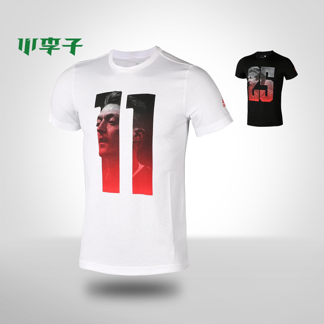 小李子:专柜正品adidas阿迪达斯厄齐尔穆勒足球服球迷运动短袖t恤_7折