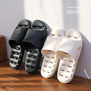 浴室拖鞋男士夏季情侣室内家用防滑镂空漏水速干洗澡儿童凉拖鞋女