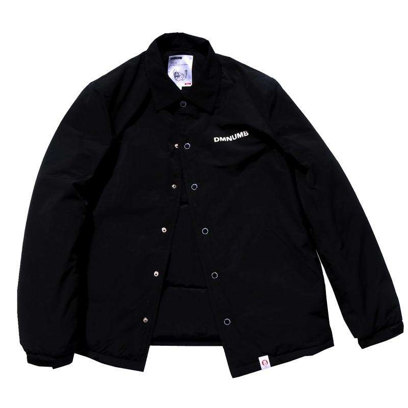 DMNUMB潮牌黑色加厚棉服