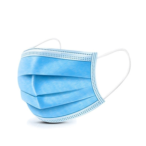现货一次性袋装三层口罩100只 无纺布熔喷防护防尘民用透气口罩