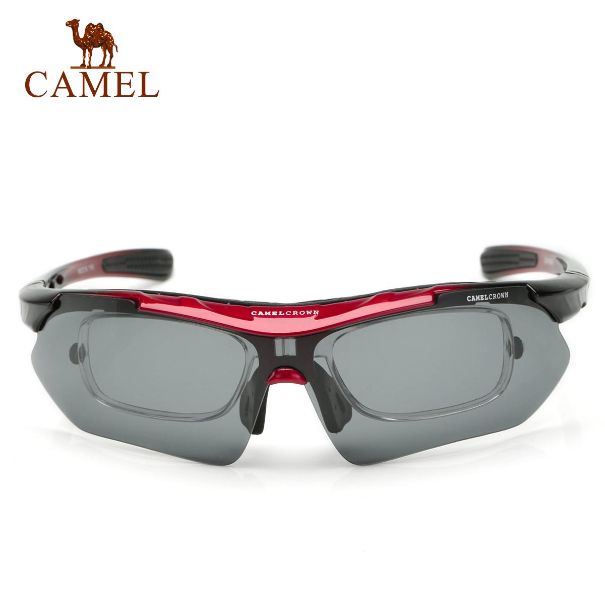 骆驼户外骑行旅游眼镜 可配近视偏光太阳眼镜男